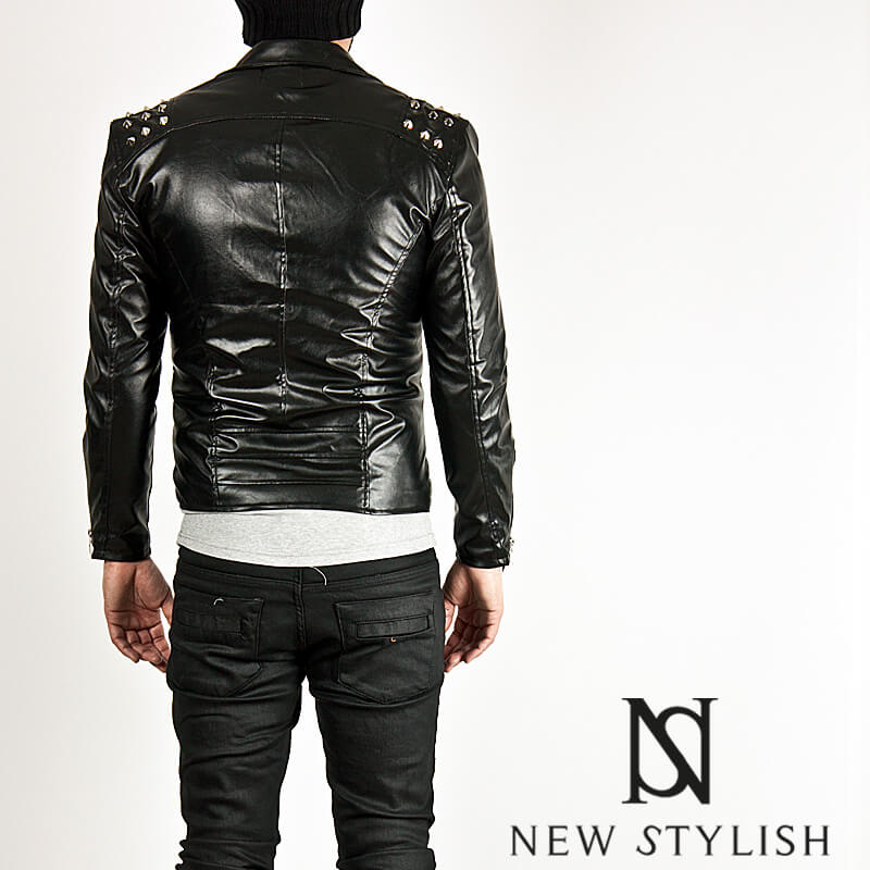 Outerwear ★sold Out★ Multiple Stud Accent Tight Fit