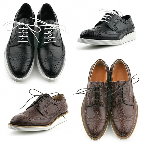 Comport sole with punching wing tip brogue, shoes - 338