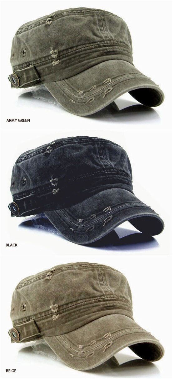 3ceacb66 Accessories - Vintage Washed Military Short Brim Hat for only 15.00 !!!