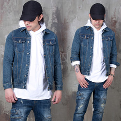 intage slim denim jacket