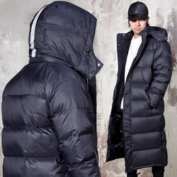 Premium scotch duck down padded long parka