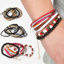 5 strings beads set bracelet